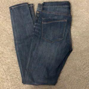 Express Mid Rise Legging skinny jeans 4